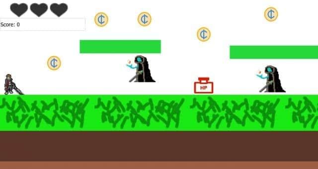 Jump Crash - 2D Video Game - Free Online Video Game